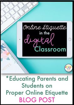 Are you looking to teach your students proper online etiquette in the distance learning classroom environment? Check out this latest blog post regarding proper etiquette in the digital classroom.
