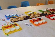 Party favors for 3 year olds: Plan a craft activity they can take home, like this car-painting project at Project Nursery