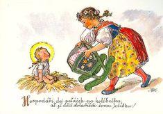 Putz Houses, Children Images, Believe In God, Jingle Bells, All Things Christmas, Vintage Children, Vintage Images, Tween, Mario