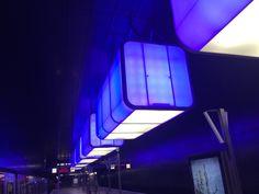 Subway station Light Art - Hamburg Hafencity