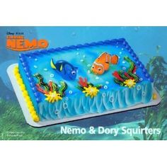 Amazon Finding Nemo Squirters Dory Cake Toppers By DecoPac Kitchen Dining