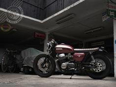 Honda CB 750 mild custom
