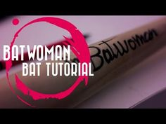 Bombshell Batwoman | Baseball Bat Tutorial - YouTube Espn Baseball, Marlins Baseball, Baseball Socks, Batwoman, Bombshells, Cosplay Ideas, Youtube, Youtubers, Youtube Movies