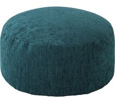 Buy HOME Tessa Polyester Bean Footstool - Teal at Argos.co.uk - Your Online Shop for Footstools, Living room furniture, Home and garden.