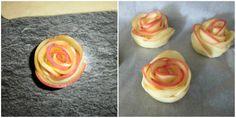 rose di mele e pasta brisè collage 2