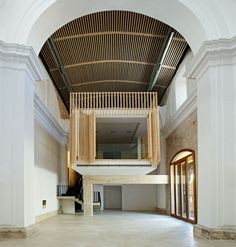 Restoration and adaptation of a 16th century Chapel in Brihuega / Adam Bresnick