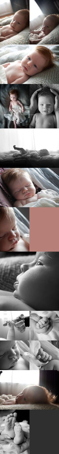 lifestyle newborn session. I want to do more of this.