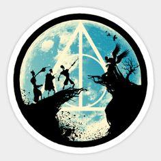 Harry Potter Stickers | TeePublic Harry Potter Vs Voldemort, Harry Potter Tumblr, Harry Potter Anime, Harry Potter Fan Art, Fantastic Beasts Book, Stickers Harry Potter, Imprimibles Harry Potter, Harry Potter Background, Homemade Stickers
