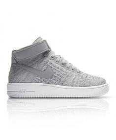 3dcac945c3839 Inspired by the sneaker that s been running courts since the Nike Air Force  1 Ultra Mid Flyknit brings back the iconic look with a lighter