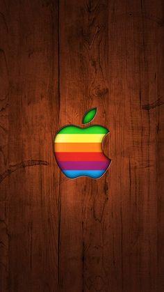 iPhone 5 apple wallpaper                                                                                                                                                     More