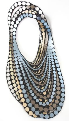 new colors #uli #textile jewelry #pearls