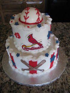 Keystone Confections: Cardinal Baseball Birthday