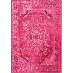 Rochelle Rug in Pink