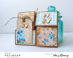 Którędy do wiosny? Decorative Boxes, Scrap, Tutorials, Blog, Cards, Vintage, Home Decor, Decoration Home, Room Decor
