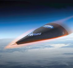 DARPA Hypersonic Test Vehicle (HTV) 2 reentry phase Faster than 13000 mph!!!