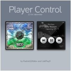 player control for rainmeter v11 by linkplay9deviantartcom on