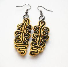 Modern Soutache earrings