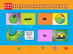 A is for Apple - Shiny Sliders  Children will love to learn with this brightly-illustrated alphabetical shiny slider book. A is for Apple will teach children to recognize their ABC's with bright pictures, fun shiny sliders and the anticipation of what is hiding behind the panels. While providing hours of fun this interactive book teaches children letters, words, and picture recognition.  28MB