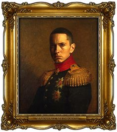 23 Celebrities Gloriously Painted As Russian Generals