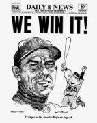New York Daily News, 1969 World Series Champs Baseball Posters, Baseball Art, Baseball Odds, Baseball Scoreboard, Baseball Teams, Softball, New York Mets Baseball, Ny Mets, Chicago White Sox Stadium
