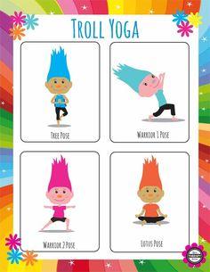 Festive troll yoga!