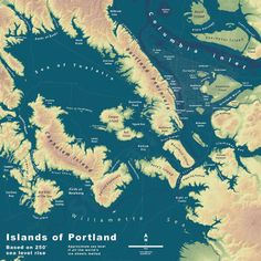 This Is What Your City Would Look Like If All The World's Ice Sheets Melt (western USA) You're going to need to learn the names of some new islands. | Co.Exist | ideas + impact
