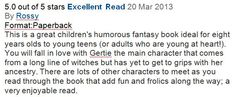 Another fantastic review from Amazon!