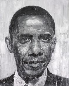 Yan Peiming, Obama, 2008
