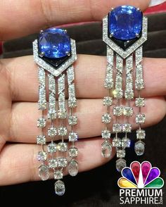 Look gorgeous by wearing this sparkling blue sapphire earrings @ https://www.premiumsapphire.com/blue-sapphire-super-premium-grade.html