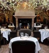 Clos Maggiore is an oasis of calm in the heart of Covent Garden. Classy restaurant for a romantic date.