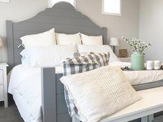 DIY Shiplap Bed Frame