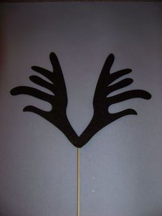 Photobooth Props Antlers on a Stick Wedding Party by PropsRus, $6.50