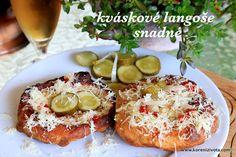 Kváskové langoše snadné-těsto v chladu uložené vydrží i několik dnů! Russian Recipes, Avocado Toast, Baked Potato, Camembert Cheese, Tart, Food And Drink, Pizza, Gluten, Cooking Recipes