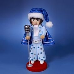 16 Authentic Steinbach Blue Elvis Presley Collectible Christmas Nutcracker ES1949EP *** See this great product.