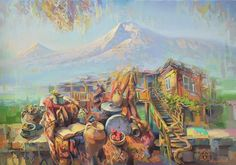 Ararat mountain original and exclusive oil paintings by Meruzhan Khachatryan - The best art gifts for you www.bestartgifts.com750 × 525Buscar por imagen Armenia, my love! Ararat mountain.  Meruzhan Khachatryan - Buscar con Google