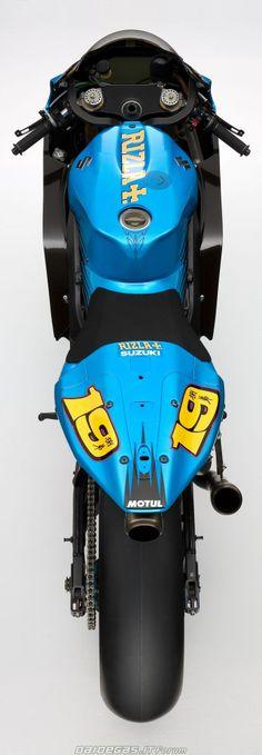 Suzuki GSV-R MotoGP Alvaro Bautista