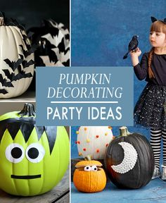 How to Host the Best Pumpkin Decorating Party! Event Ideas, Party Ideas, Fall Carnival, Best Pumpkin, Pumpkin Decorating, Spooky Halloween, Pumpkin Carving, Fundraising, Scary Halloween
