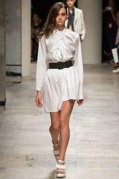 White Shirt - Maison Rabih Kayrouz - Paris SS15