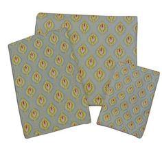 Dena Designs Peacock Printed Fingertip Towel