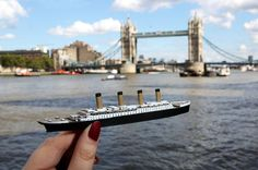Hold on to Your London Vacay with 3D Printed Miniatures from the Dremel 3D Idea Builder http://3dprint.com/92908/london-3d-printed-minis/