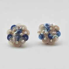 mAnui(マニュイ): tamasアクセサリー入荷♡ Bead Embroidery Jewelry, Beaded Embroidery, Bead Jewellery, Beaded Jewelry, Jewlery, Shibori, Couture Embroidery, Craft Accessories, Gold Work