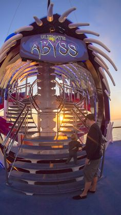 Ultimate Abyss, Harmony of the Seas | | The energy that courses through your veins as you plummet 10 stories will only be matched by your desire to do it again and again.