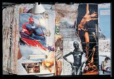 Loose Pages from Diary. 1978  Peter Beard