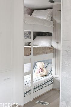 Camper Bunk Beds, Caravan Bunks, Zip Up Bedding, Rv Bedding, Coastal Bedding, Beddys Bedding, Kombi Home, Caravan Makeover, Diy Rv
