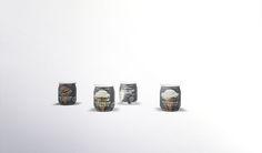 Ice cream jars - Kitchen clutter part 1 by Viikiita.