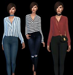 Goldie Shirt at Leo Sims • Sims 4 Updates