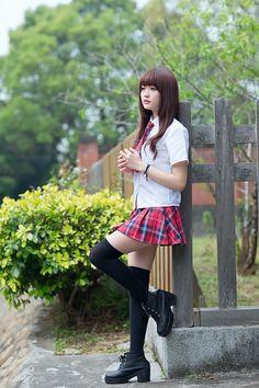 Best 12 Lady's Japanese School Uniforms – SkillOfKing. School Uniform Outfits, School Dresses, School Girl Outfit, School Uniforms, Cute Asian Girls, Beautiful Asian Girls, Cute Girls, Japanese School Uniform Girl, School Girl Japan