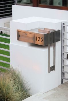 Postbox design detail