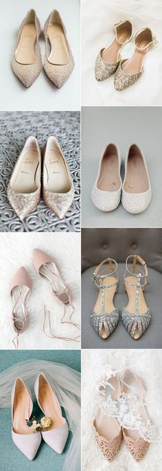 2018 trending flat wedding shoes