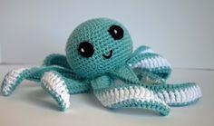Amigurumi Octopus Baby Toy Free Pattern Part 2